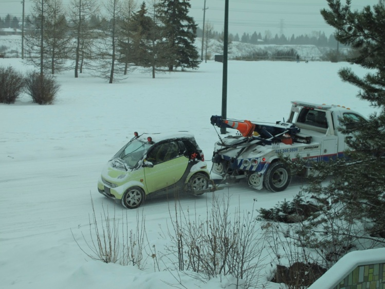 Smart tow