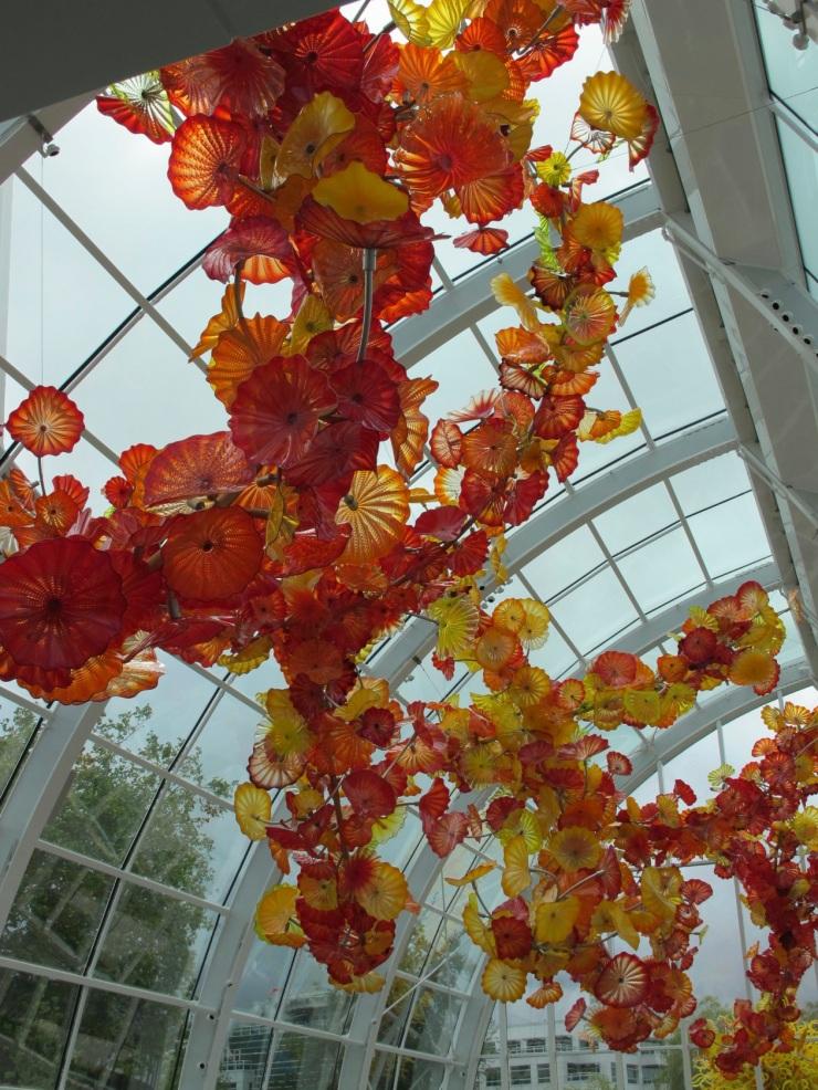 inside the glass house