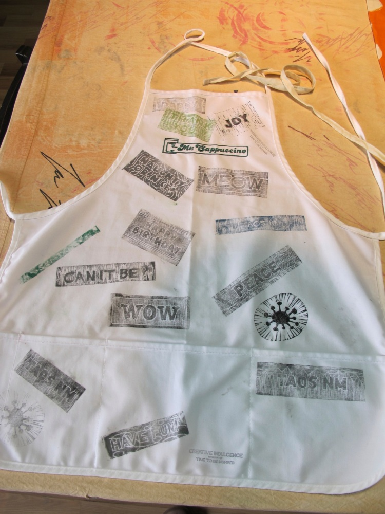 sample apron