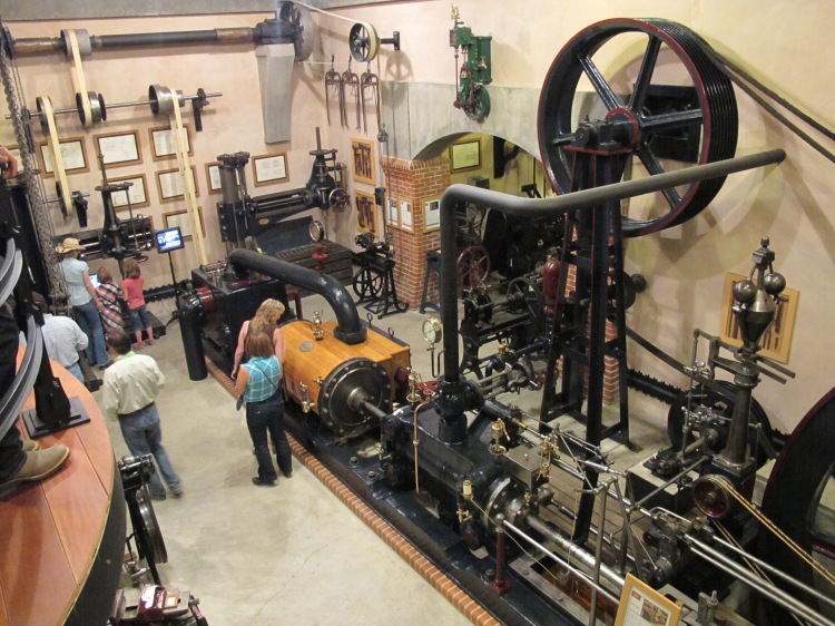 first machinery room