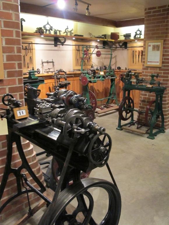 beautiful machinery display