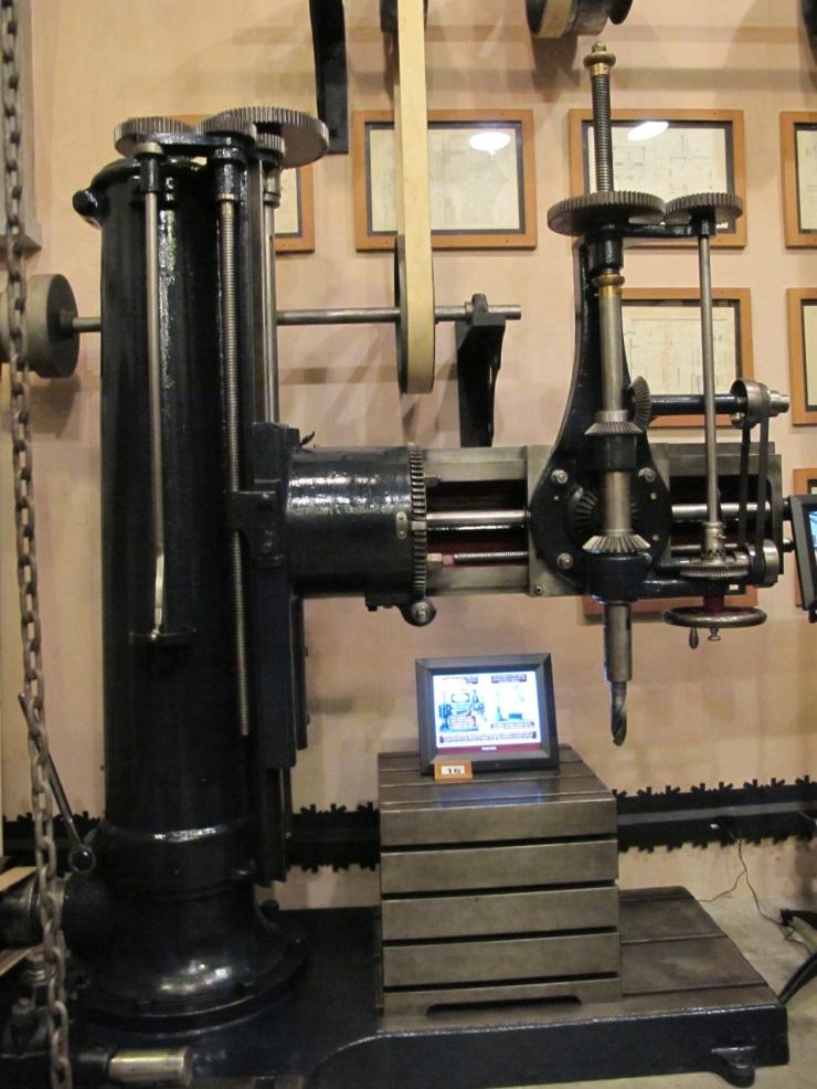 more machinery
