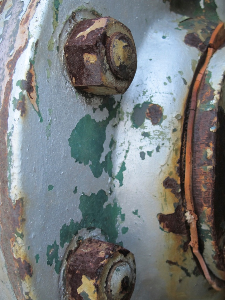rust and old paint