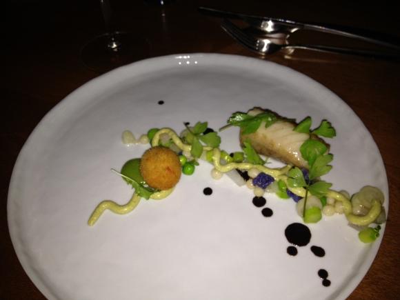 main course at Acadia restaurant