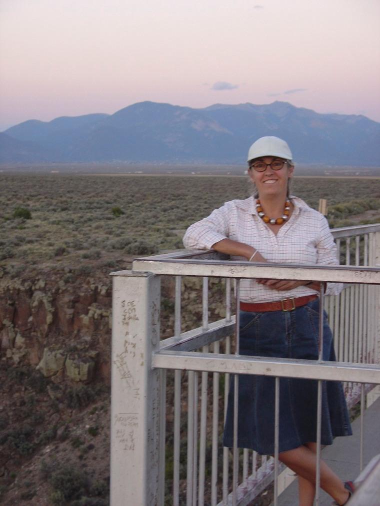 gorge overlook - Taos