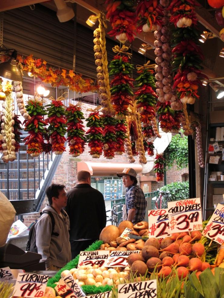 plentiful vegetables