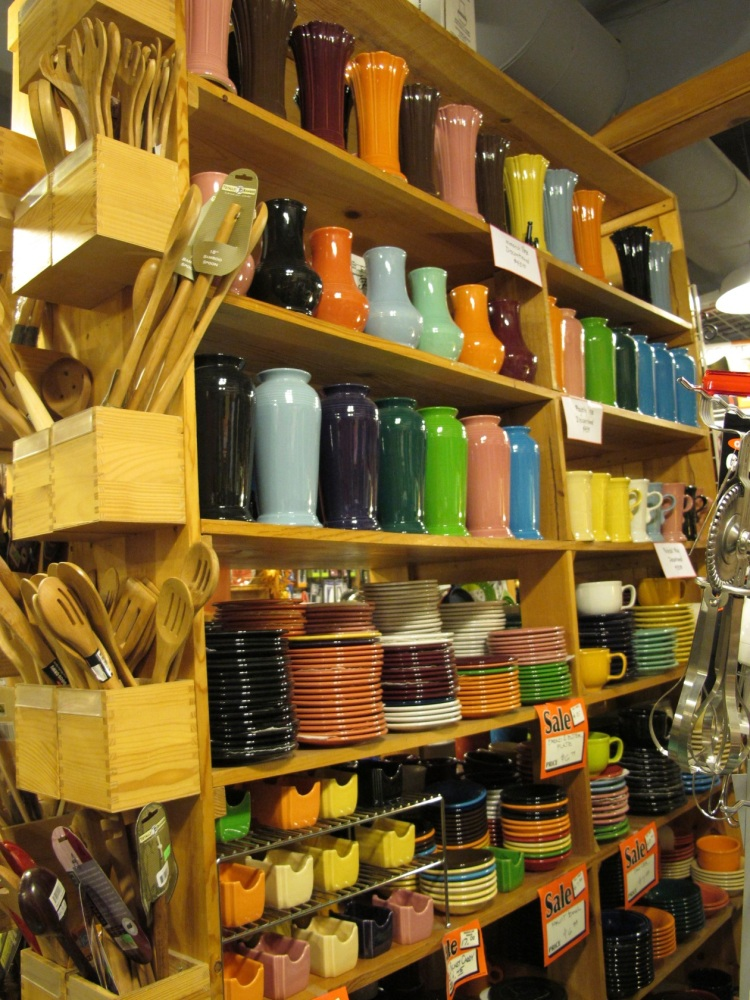 colorful kitchenware