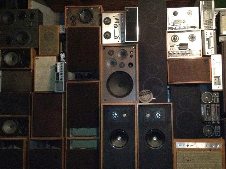 speaker wall