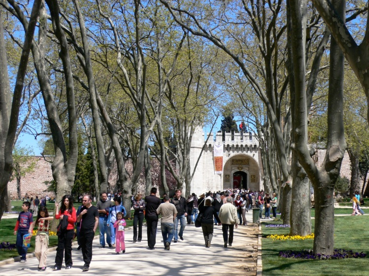 grounds of Topkapi