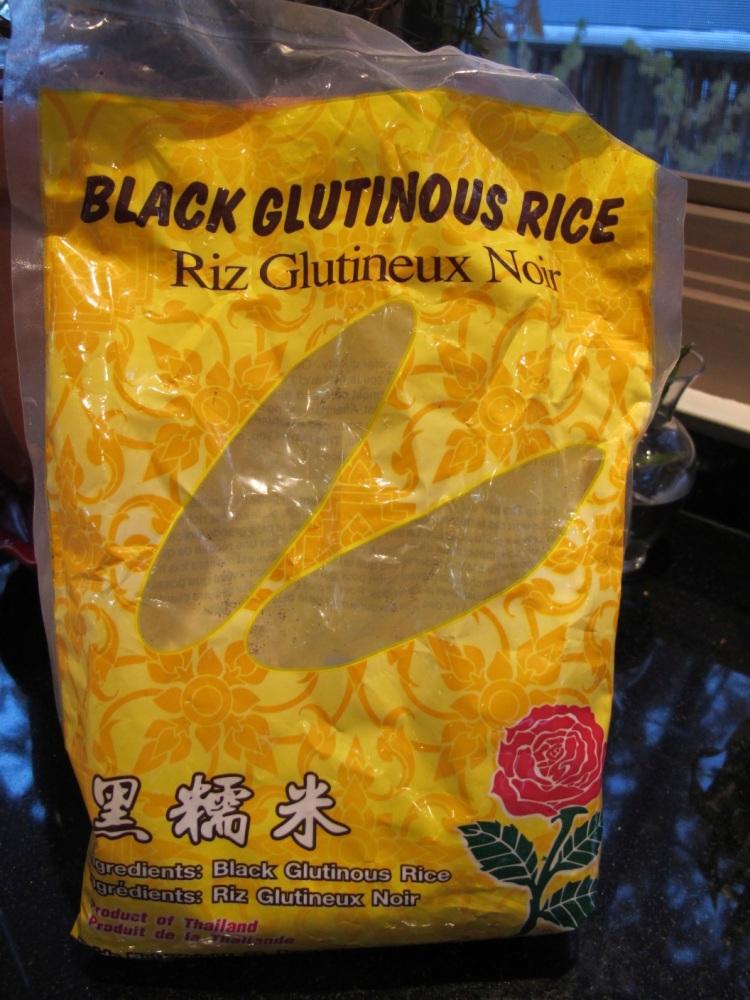 black rice package