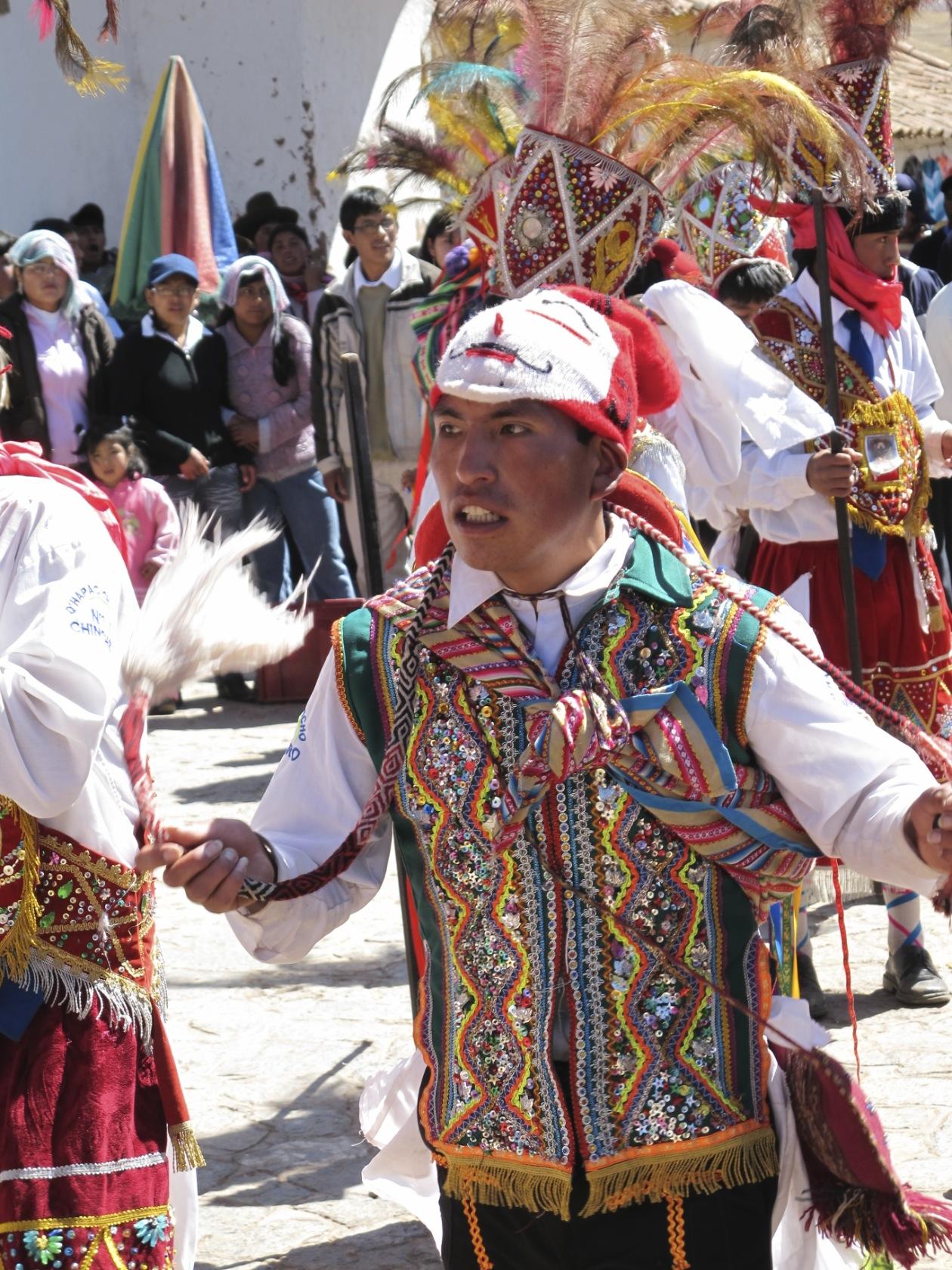 Chinchero dancer