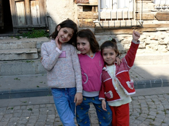 happy Turkish girls