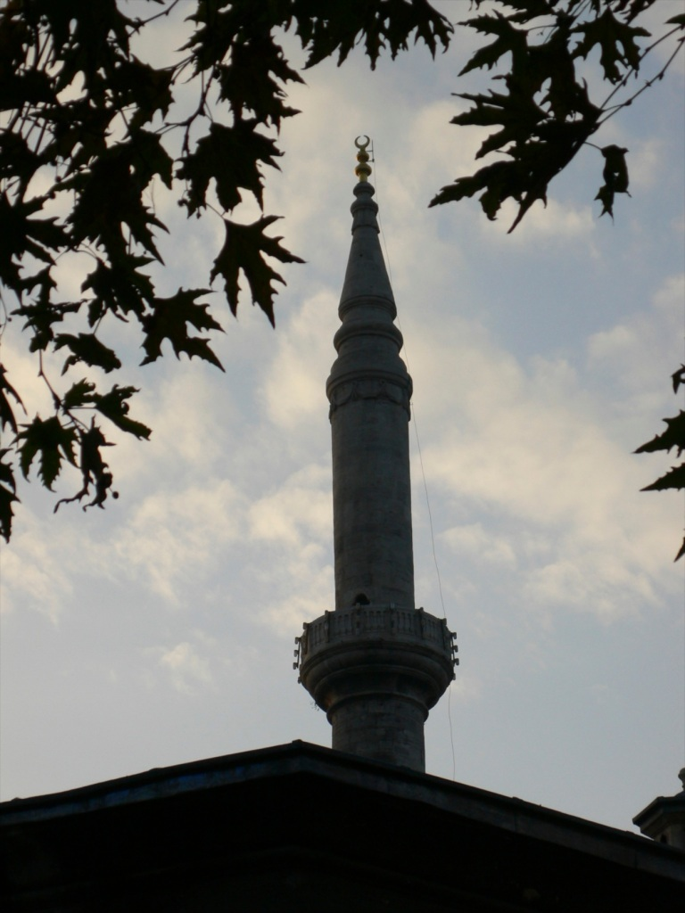 beautiful minaret
