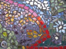 mosaic mural detail