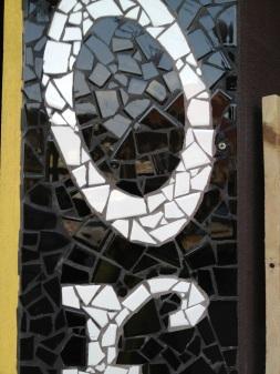 mosaic sign detail