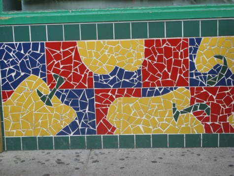 store front tile
