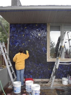 4-grouting front wall-2004