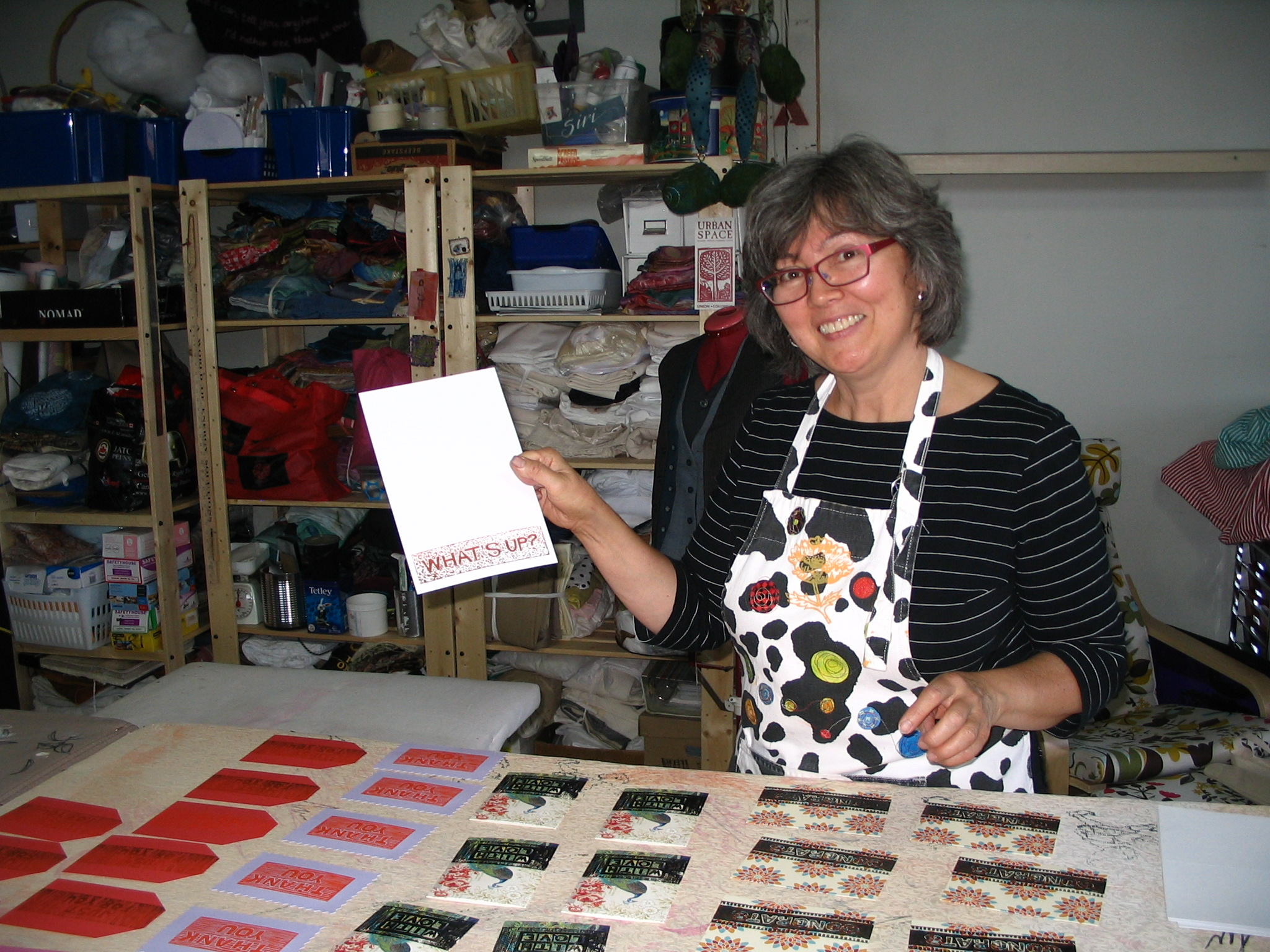 showing my printing