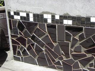 black base