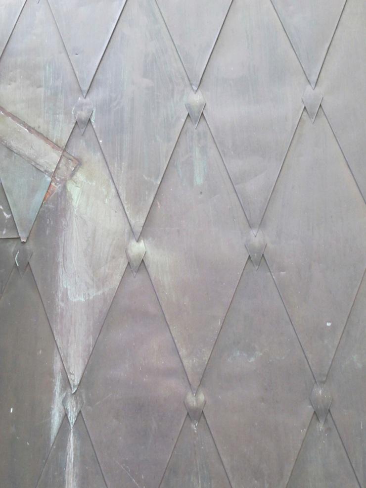 metal siding detail