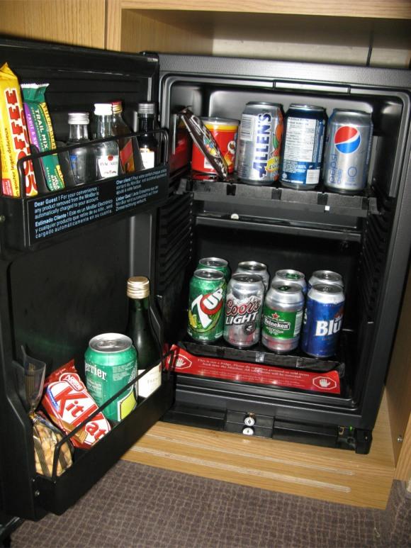 hotel bar fridge