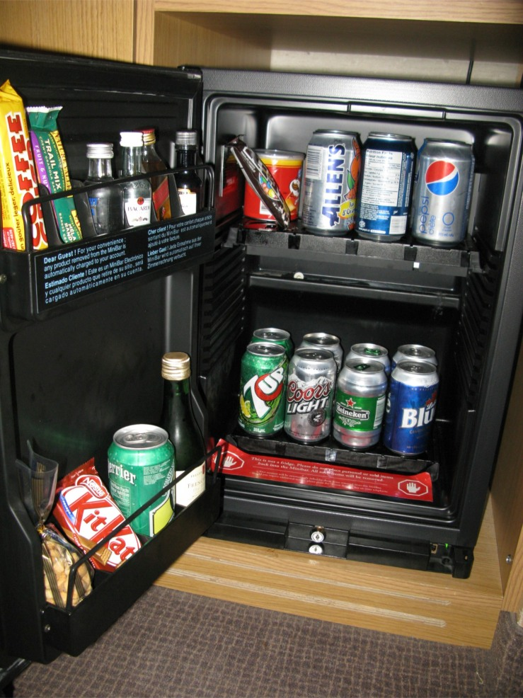 hotel bar fridge