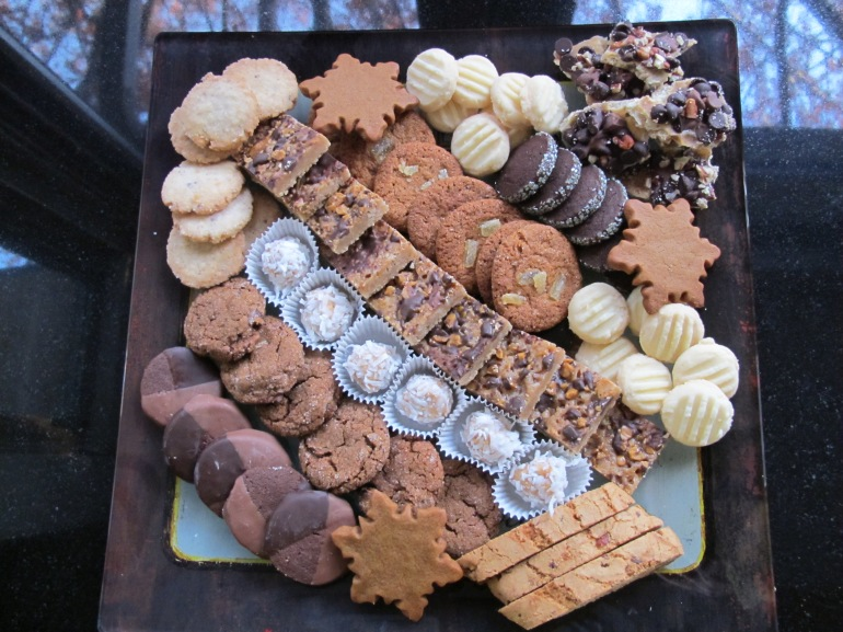 cookies all arranged