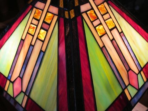 glass lampshade