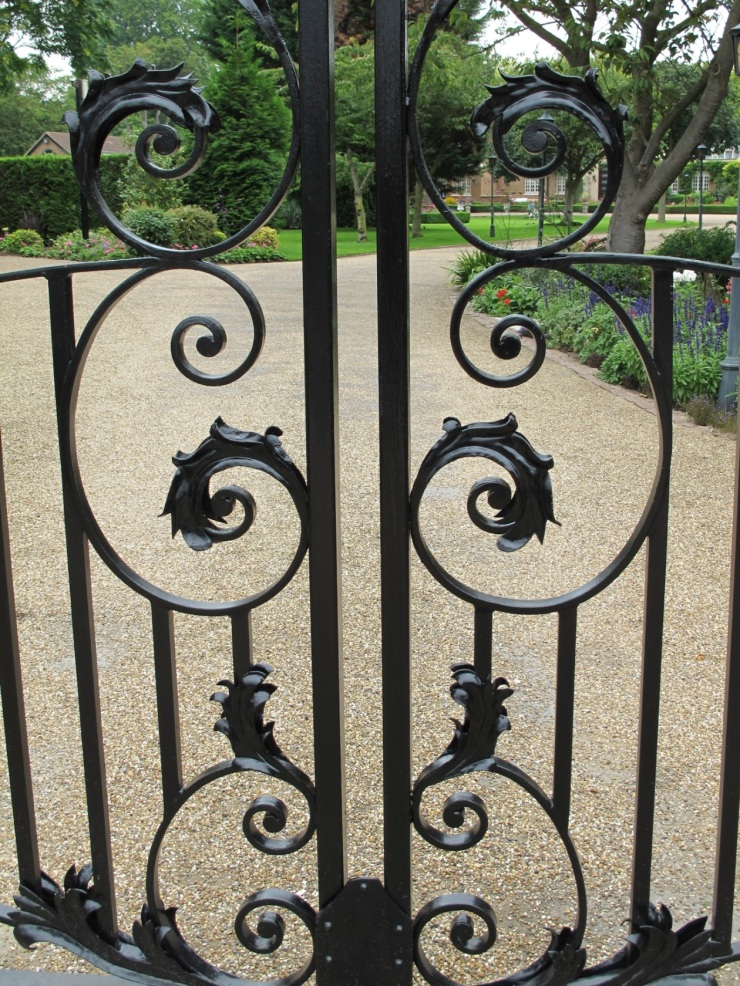 part of iron gate
