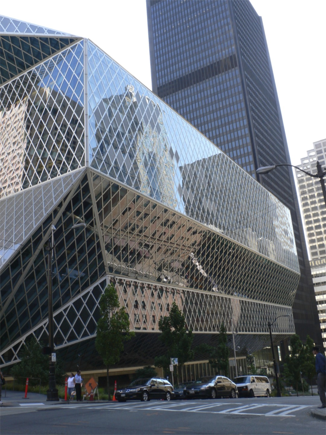 Seattle library'