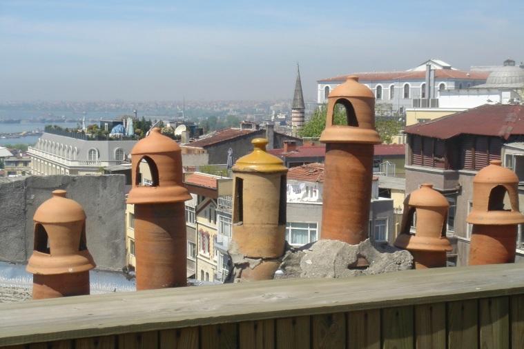 city beyond the chimney pots