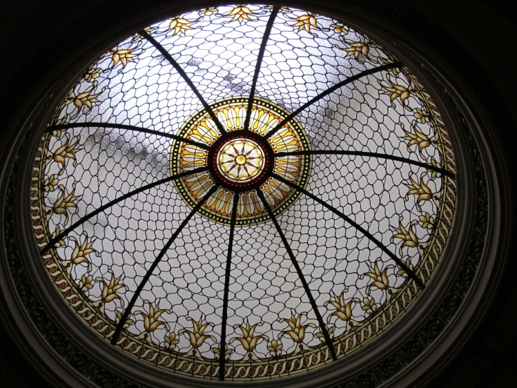 dome ceiling at law building