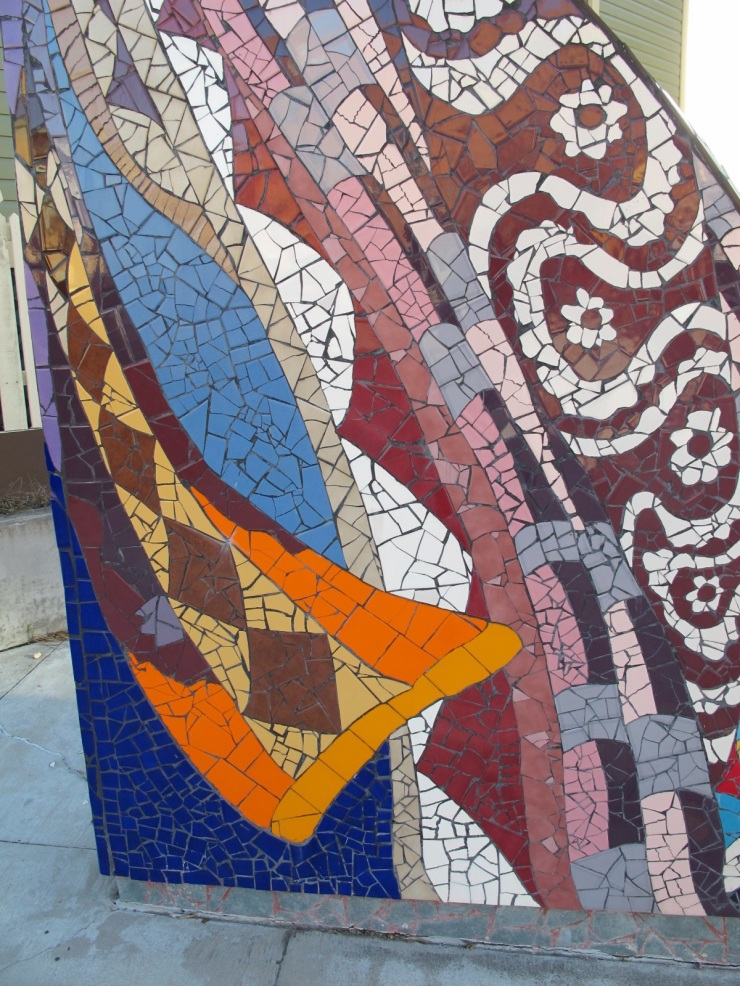 abstract mosaic detail