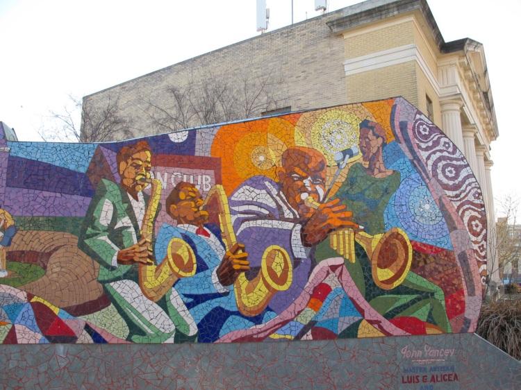 tile mosaic mural