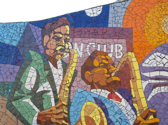 mural mosaic detail