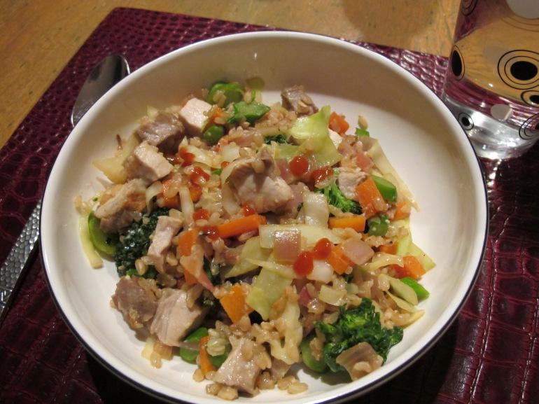 fried rice dinner