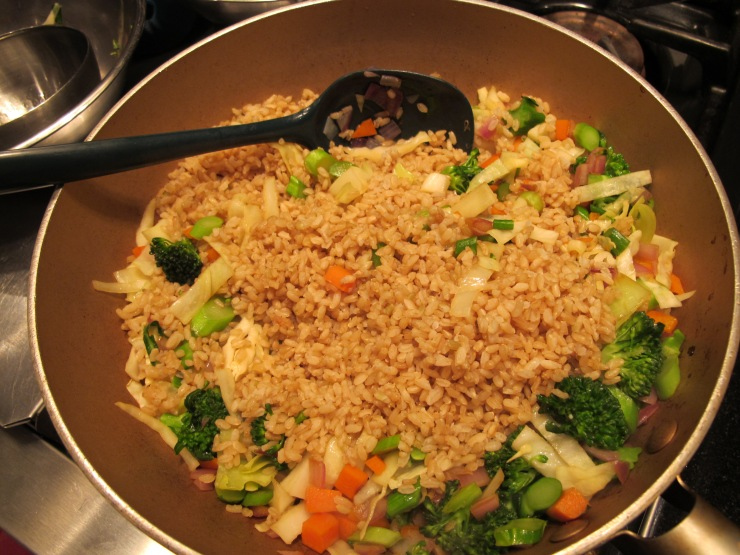 rice added