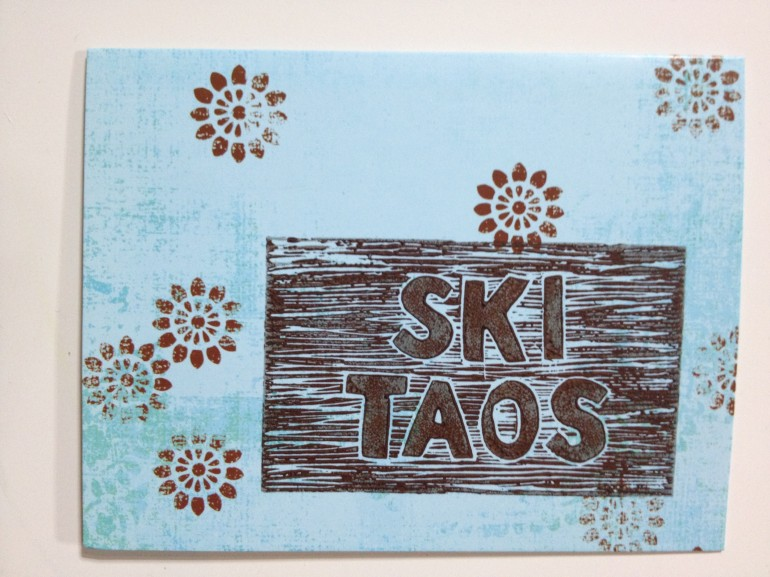 ski Taos card
