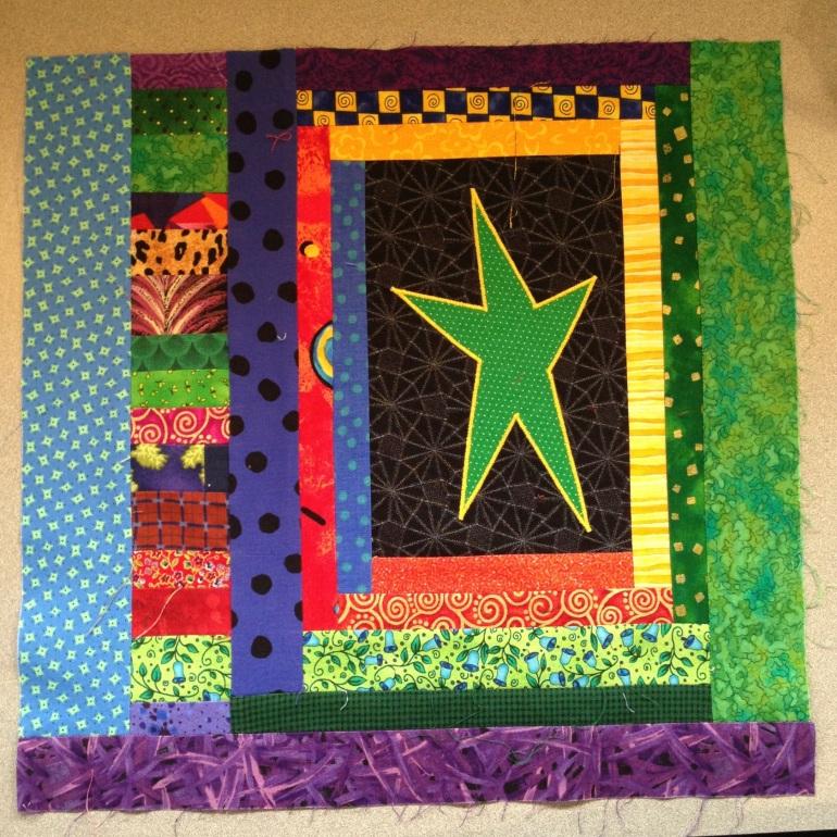 star quilt block