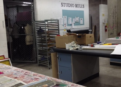 print studio at ACAD