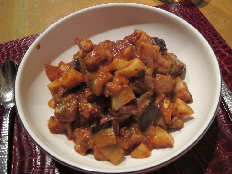 one dish moussaka