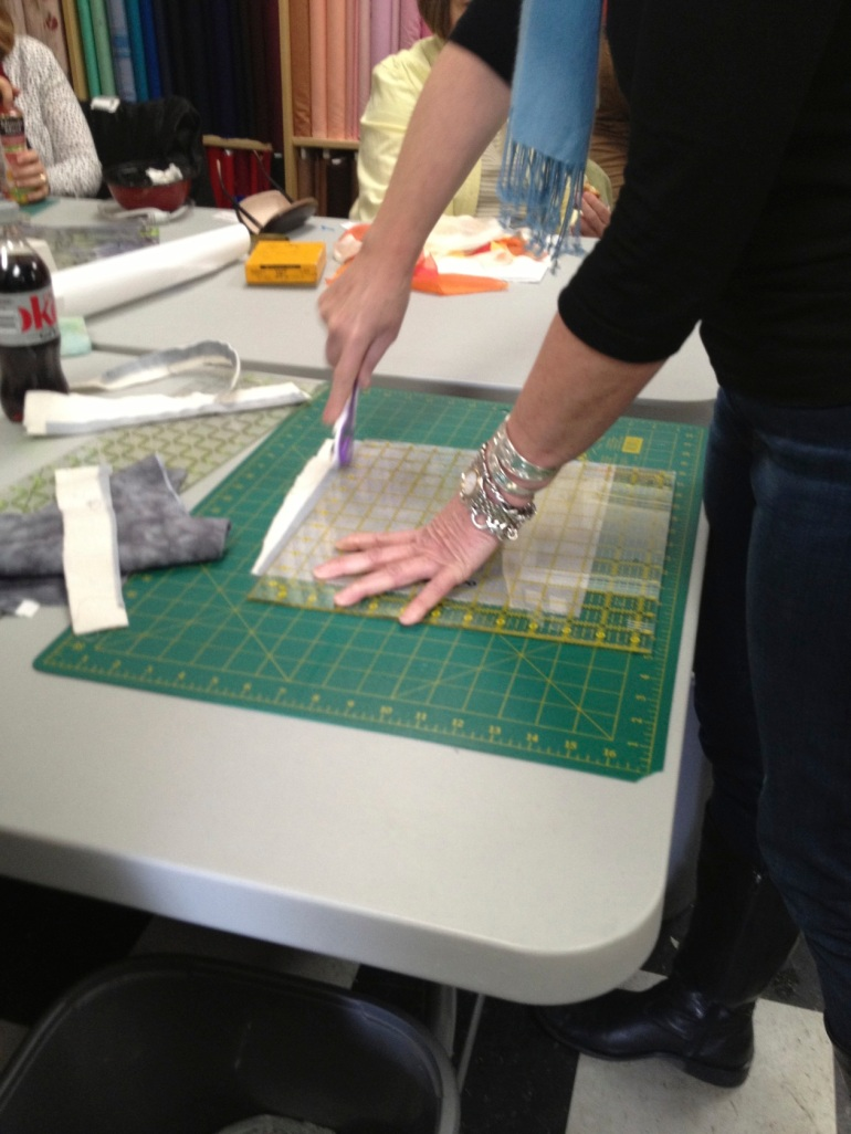 cutting to square