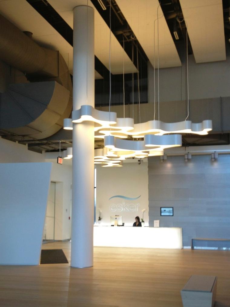 gallery reception area