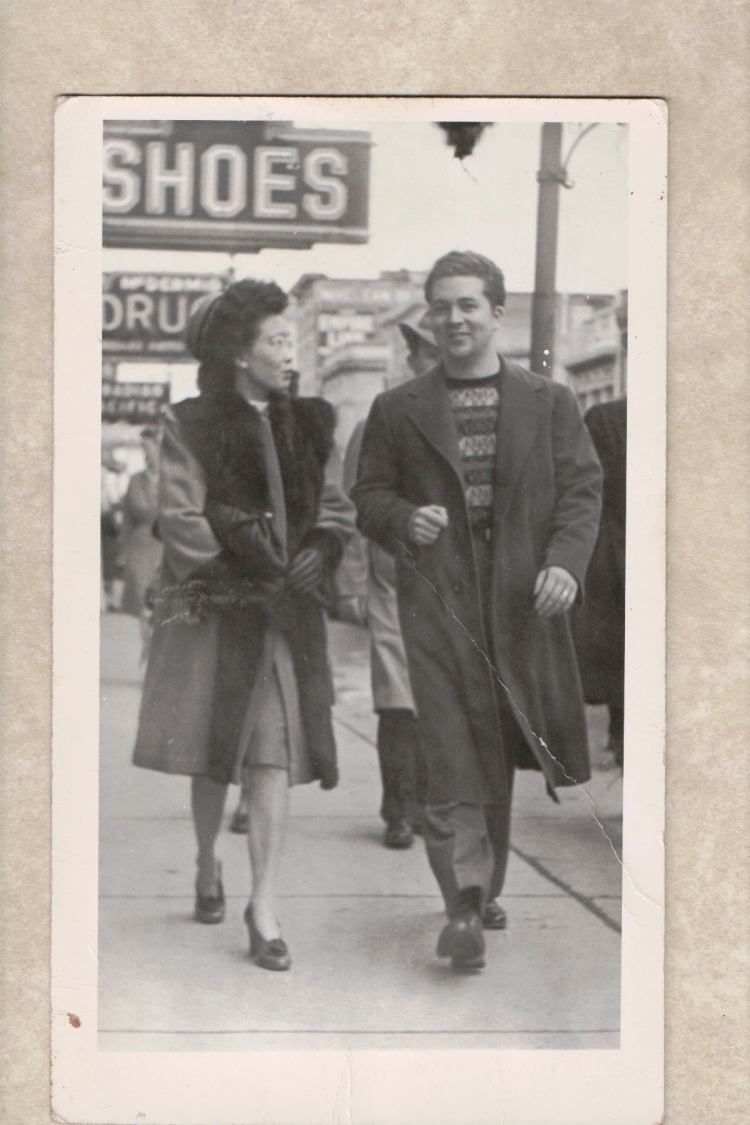 old time mom and dad
