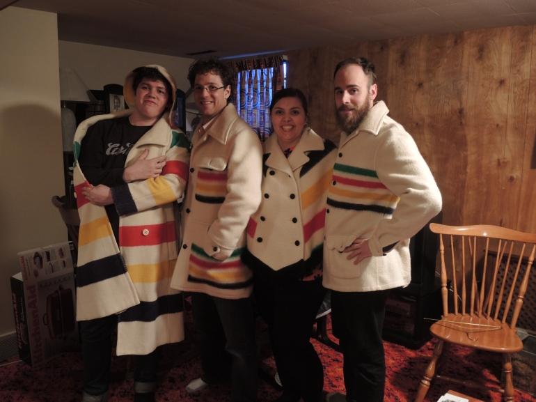 Hudson's Bay coats