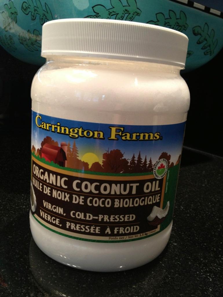 coconut oil from Costco