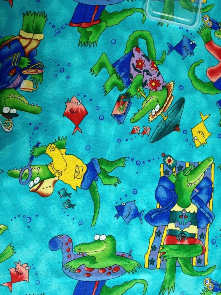 crocodile fabric