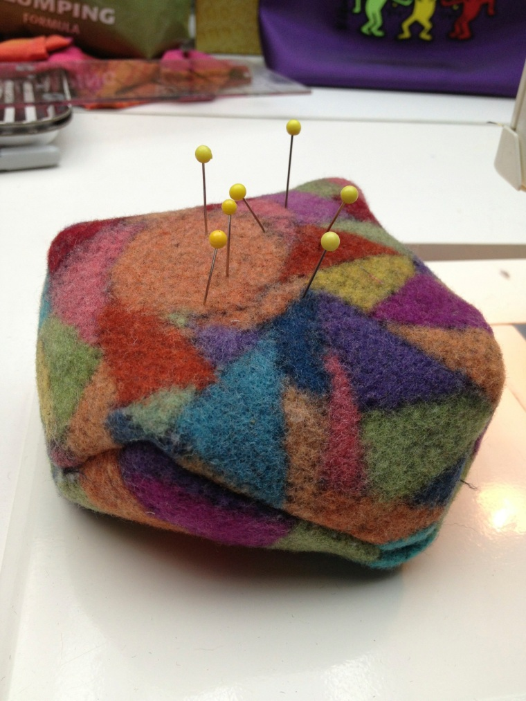 first pincushion