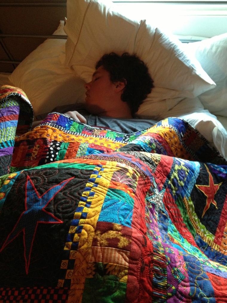 sleeping Marc