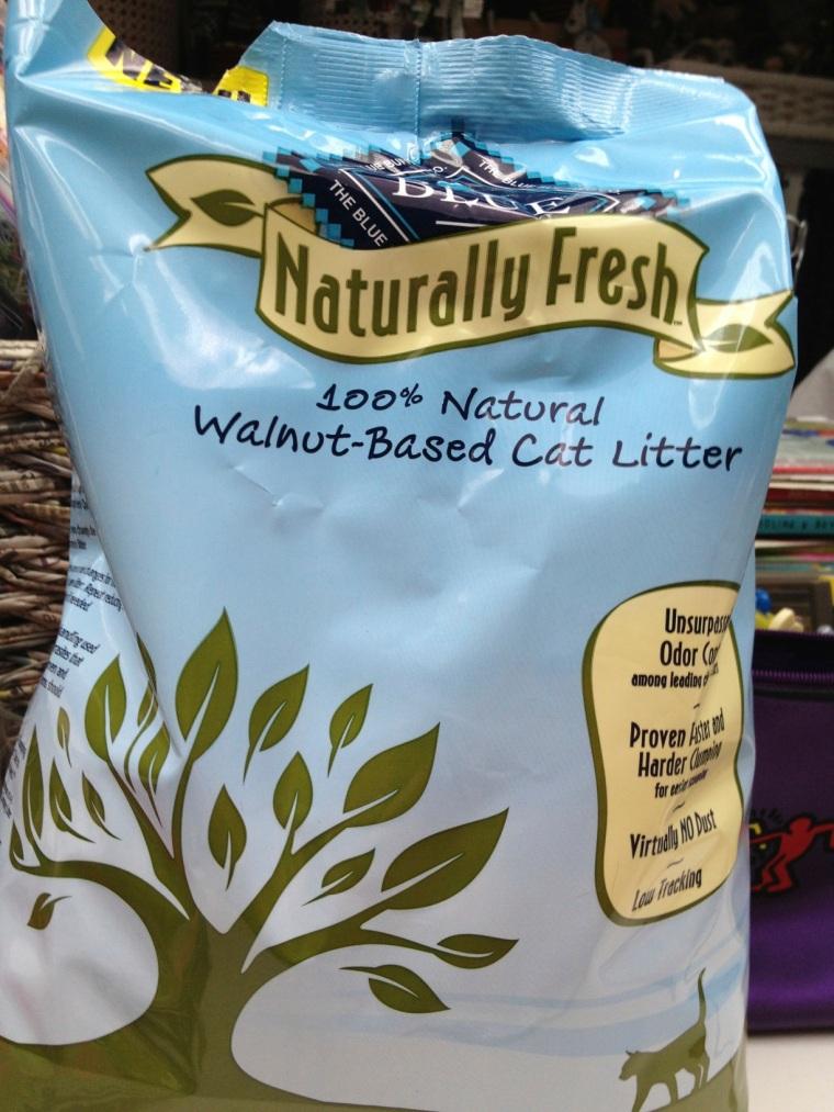 walnut cat litter